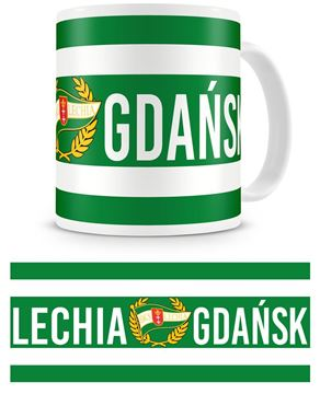 "Obrazek Kubek Lechii Gdańsk ""Pasiak"""