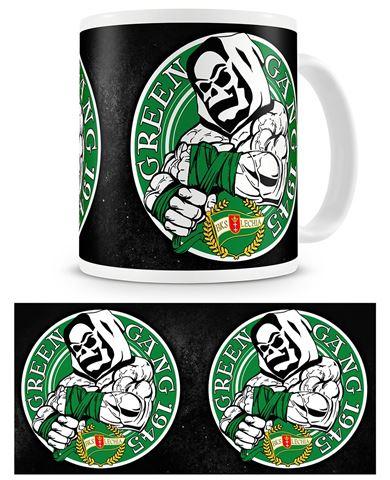 "Obrazek Kubek Lechii Gdańsk ""Green Gang"""