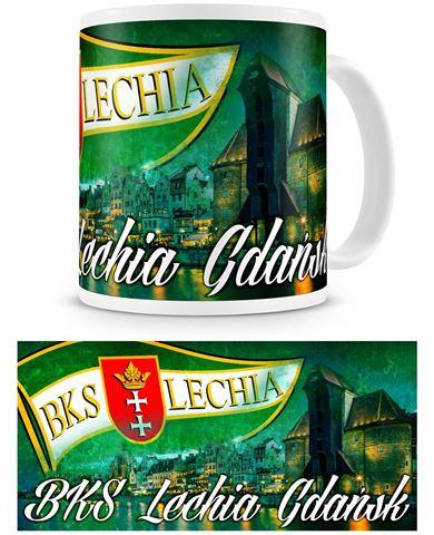 "Obrazek Kubek Lechii Gdańsk ""Panorama"""