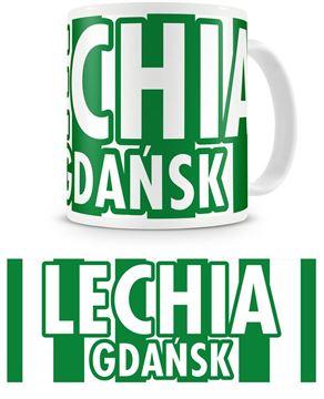 """Obrazek Kubek Lechii Gdańsk """"Pasiak II"""""""