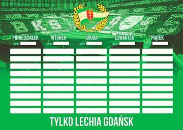 Obrazek Plan lekcji Lechii Gdańsk