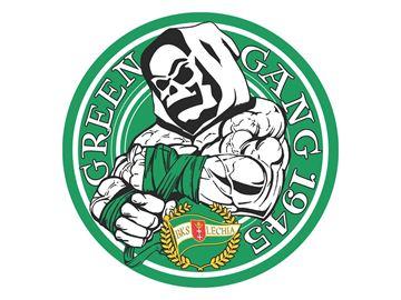Obrazek Wlepka vlepka Green Gang ⌀25