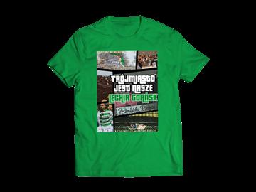 """Obrazek Koszulka """"Trójmiasto jest nasze"""" zielona dziecięca"""
