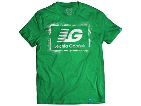 "Obrazek Koszulka ""LG"" zielona"
