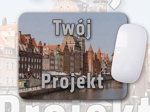 """Obrazek Podkładka pod mysz """"Twój Projekt"""""""