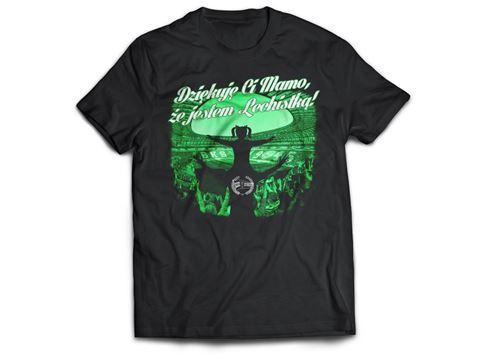 Obrazek Koszulka Dziękuję Ci Mamo że jestem Lechistką