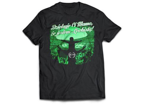 Obrazek Koszulka Dziękuję Ci Mamo że jestem Lechistą