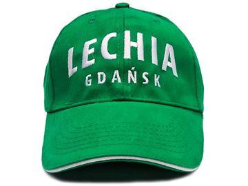 Obrazek Czapka zielona Lechia