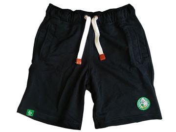 Obrazek Spodenki dresowe czarne Green Gang