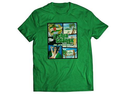 Obrazek Koszulka wakacje zielona