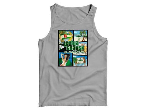 Obrazek Koszulka na ramiączkach wakacje szara
