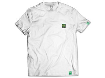 Obrazek Koszulka Klasyk Herb gumka biała