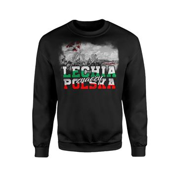 Obrazek Bluza Lechia znaczy Polska bez kaptura
