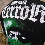 Obrazek Bluza z kapturem White Green Terror