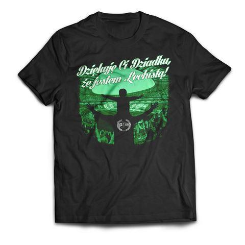 Obrazek Koszulka Dziękuję Ci Dziadku że jestem Lechistą