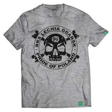 Obrazek Koszulka szara Czacha