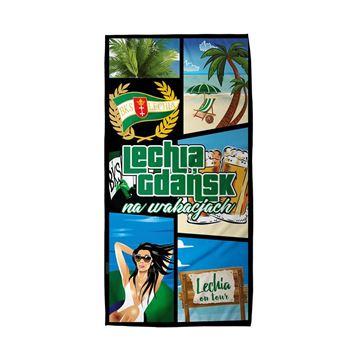 Obrazek Ręcznik Lechia na wakacjach