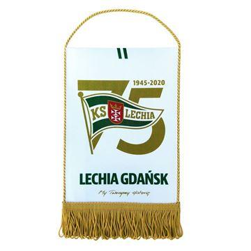 Obrazek Proporczyk 75 lat Lechii Gdańsk
