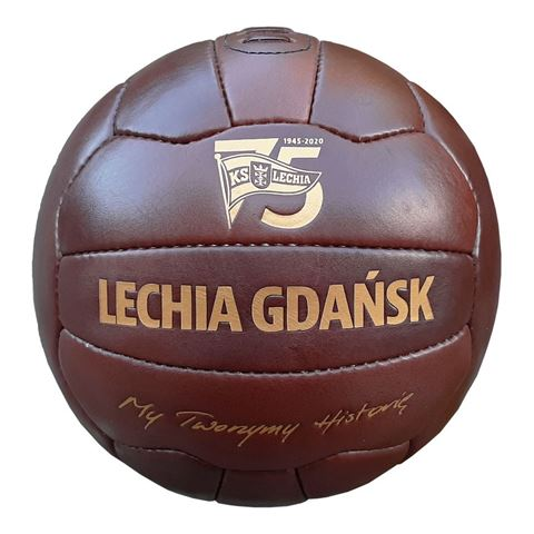 Obrazek Piłka retro 75 lat Lechii Gdańsk