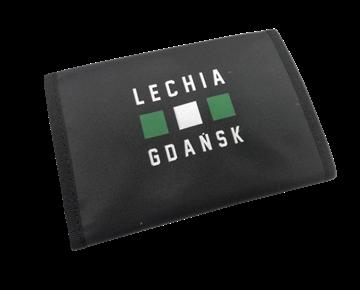 Obrazek Portfel Lechia Gdańsk czarny