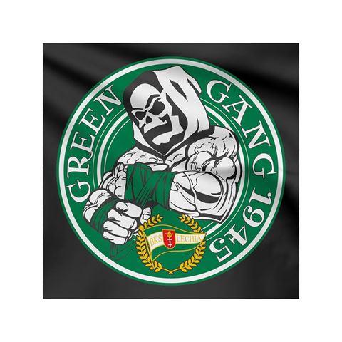 Obrazek Flaga na ścianę Green Gang