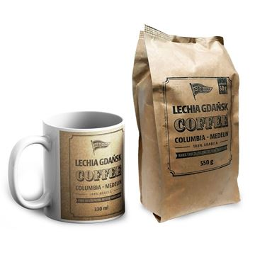 Obrazek Zestaw kawa i kubek Lechii