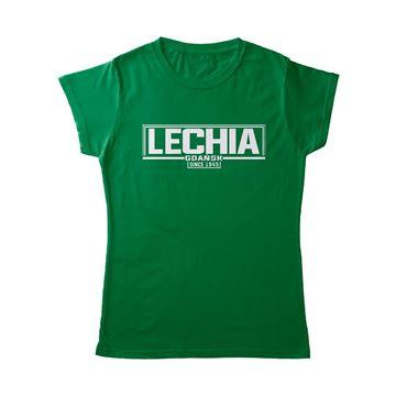 Obrazek Koszulka zielona since damska